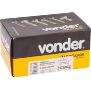 Caixa 200 Unidades Parafuso 6,3 X 50mm Panela Vonder