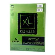 Block Canson Xl Recycled Sketch Reciclado 22.9x30.5cm 74 G