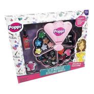 Set Maquillaje Infantil Abanico Desplegable Poppi Ar1 S21517