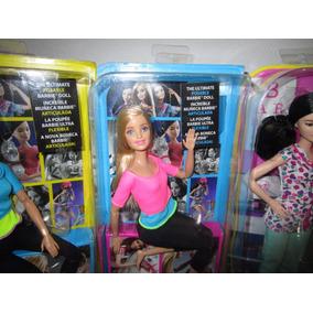 Barbie Made To Move Loira Lacrada R$ 160,00cada Frete Gratis