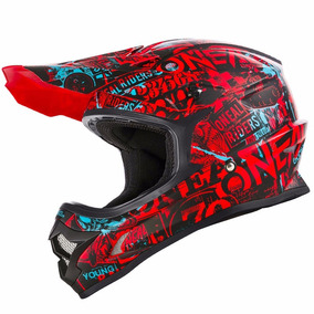 Casco Motocross Oneal Series 3 Attack Red Fox Bell Atv Airoh