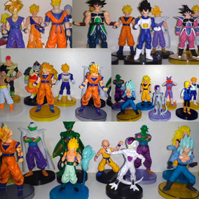 Boneco Dragon Ball Goku Freza Vegeta Trunks Picolo Cada 1