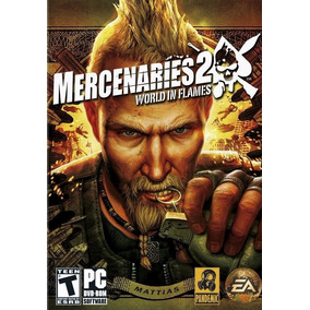 Leilão Jogo Mercenaries 2 World In Flames P Windows Pc A6487