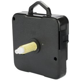 Máquina Para Relógio De Parede Tic Tac 21mm Ponteiro Preto