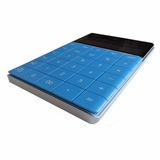 Calculadora De Escritorio Diseño | Deli 1589 Azul | Escool