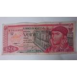 20 Pesos Mexico 1077. Lima Entregas Centro Covico