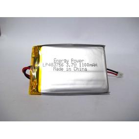 Bateria De Lipo 3,7v 1100mah Lithium-polimero Recarregável
