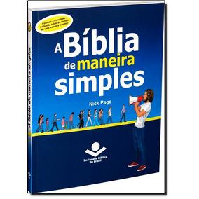 Livro - Bblia De Maneira Simples, A - Ntlh