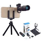 18x Zoom Telescopio Celular Universal Lente Iphone Samsung