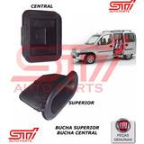 Kit Bucha Guia Superior + Central Porta Correr Fiat Doblo Nf