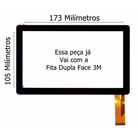 Tela De Vidro Touch Screen Tablet Lenoxx Tb 50 Tb50 Tb-50