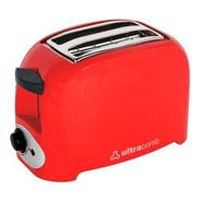 Tostadora Ultracomb 750w To-4005 Descongela Roja Nueva Gtia