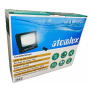 Proyector Solar Led 100w Atomlux Ip65 Ecoluz Calidad Premium