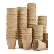 Paquete 25 Macetas Biodegradables De Fibra De Coco
