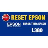 Reset Almohadillas Epson - L380