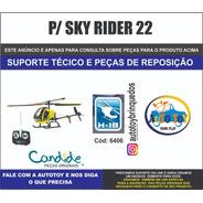 Sky Rider 22  6406 - H-18 - Candide - Peças De Reposição