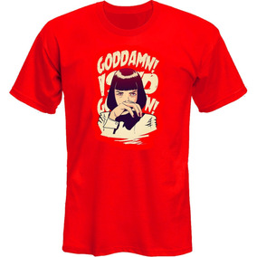 Remeras Pulp Fiction Mia Dammit Tarantino *mr Korneforos*