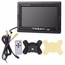 Kit Monitor 7 Lcd + 1 Camera Infravermelho 36leds+20mts Cabo