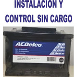 Bateria Chevrolet Celta Fun Original Acdelco Instalada !!!