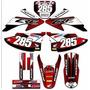 Kit Adesivo Crf 230 2008 2009 2010 2011 2012 2013 2014 Crf21