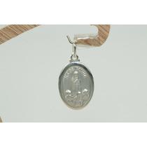 Pingente Medalha Nossa Senhora De Fátima Prata 925 Lindo!