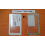 Vidrio Tactil Tablet Tophouse S7002 Blanco Villa Del Parque