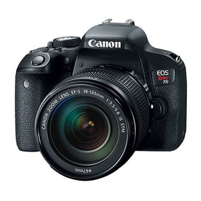 Camara Canon Eos T7i 18-135 Nuevas, Garantía Factura A O B
