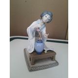 Geisha Porcelana Lladro