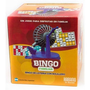 Bingo Familiar Con Bolillero 1003 Tombola Loteria Edu