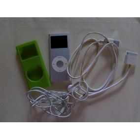 Mini Ipod 4gb, Más Forro, Más Cable Usb Y Audífonos