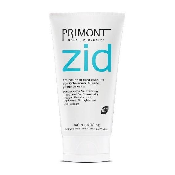 Tratamiento Zid Post Alisados Coloración Primont 140g