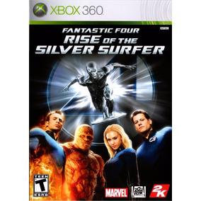 Fantastic Four Rise Of Silver Surfer (mídia Física) Xbox 360