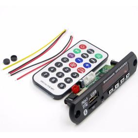 Placa Leitor Decodificador Usb Mp3 Bluetooth