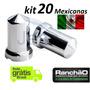 Capa Porca Mexicana Caminhão Cavalo Kit 20 Unid 32mm Ou 33mm