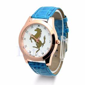 Hermoso Reloj Deportivo Con Caballo