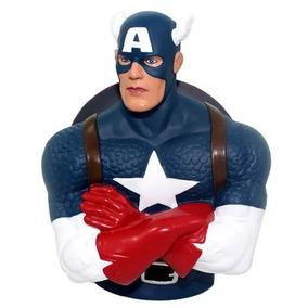 Cofre Busto Marvel Capitão America - Zona Criativa