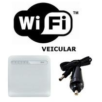Modem Roteador 4g Wifi Veicular 32 Users Ideal Vans E Ônibus