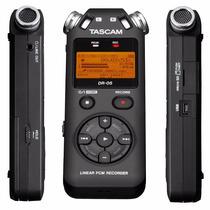 Gravador Voz Tascam Dr-05 Digital Portátil Mp3+4gb Versão 2