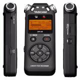 Gravador Dr-05 Voz Tascam Digital Portátil Mp3+4gb Versão 2
