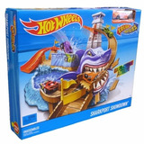 Hot Wheels - Pista Ataque Do Tubarão Color Shifters - Mattel