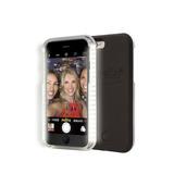 Capa Case Capinha Lumee Led Luz Selfie Iphone 6/6s - Preta