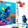 Livro Para Colorir Aquarela Procurando Dory Disney Didático