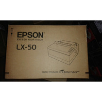 Impresora Epson Lx50 Ideal Para Factura Simple F/continua