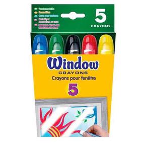 Crayones Para Vidrio Lavables X5 Niños Morph