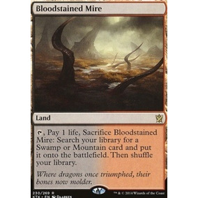Bloodstained Mire - Magic The Gathering