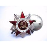 Medalha Soviética 2º Guerra Mundial - Urss + Certificado