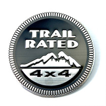 Emblema Lataria Jeep Trail Rated