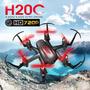 Mini Drone H20c Con Camara Color Rojo O Verde