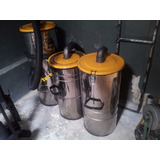 Sistema De Aspiracion Industrial Turbion Ciclon Clean 3 Filt