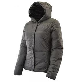 Campera Le Coq Sportif Puff Light Down Jacket Woman Grey